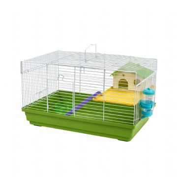 Pet Ting Green Heather Rodent Cage